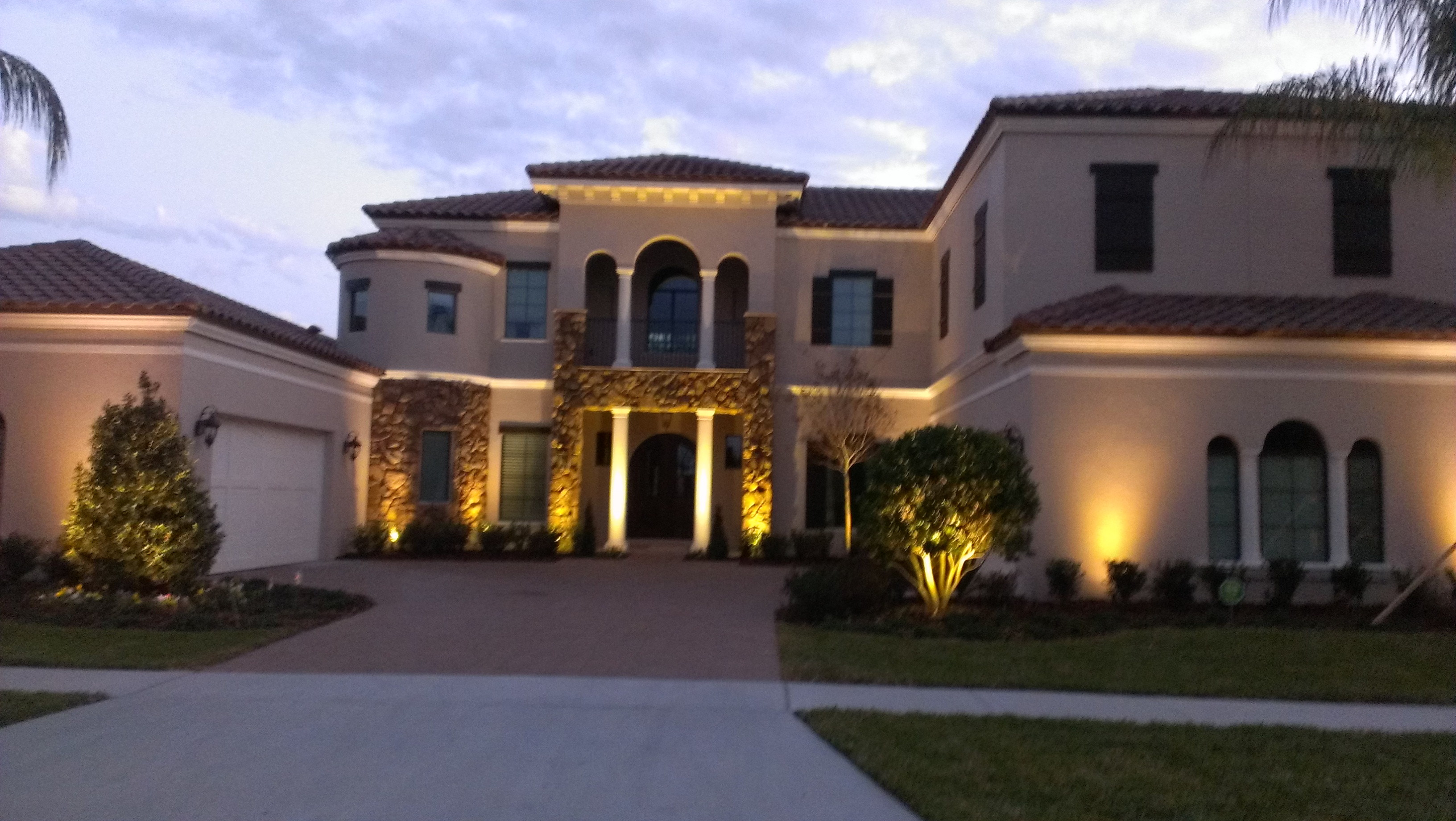 Services Orlando Landscape Lighting Outdoor